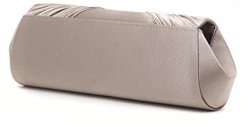 à l P Pochette satin sacs 5x7 PEREZ chaîne bandoulière x cm Navy bleu 120 cm sacoches 5 avec VINCENT foncé avec couleur 31x11 strass aisselles à taupe détachable sac en x H vB0q5F0wt