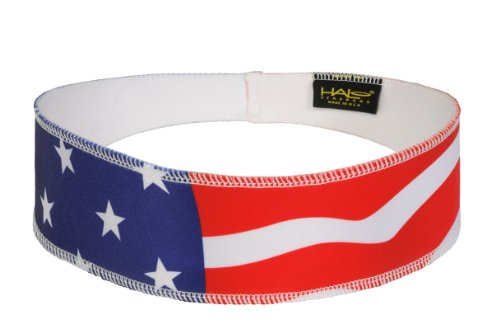 Halo II Headband Sweatband Pullover USA Flag