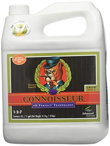 (Advanced Nutrients pH Perfect Connoisseur Grow Part B Plant Nutrient, 4 L)