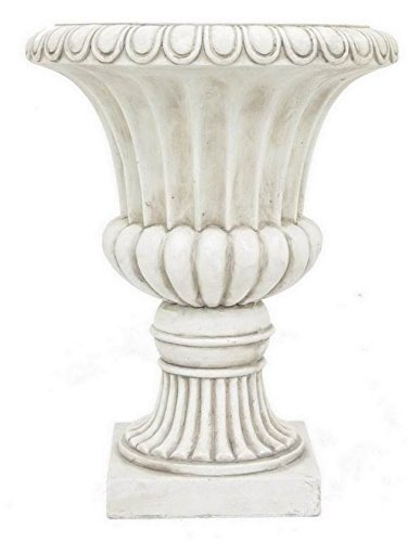 Urn Planter in Dark Ivory by Benzara