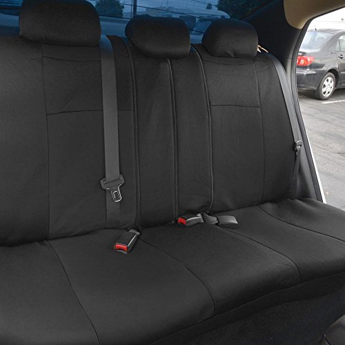 free shipping polycloth black car seat covers easywrap interior protection for auto 11street. Black Bedroom Furniture Sets. Home Design Ideas