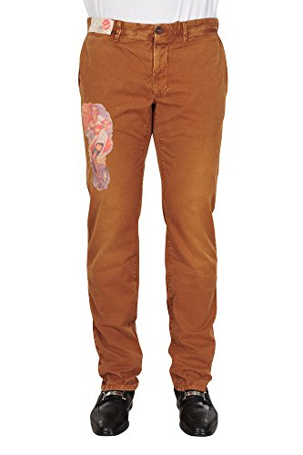 Incotex Pantalon Homme 33 Marron / Chinos Taille normale Coupe droite