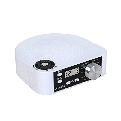 KEDSUM White Noise Machine, Sleep Sound Therapy System With 10 Natural Sounds, Sleep and Relax Well-Sleeping Sound Machine by KEDSUM