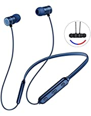 Wireless Headphones Sports Bluetooth Headsets (10 Hours Play Time Super sound Quality Bluetooth4.1) Noise Cancelling Sweat Proof Earphones Bluetooth Headphon
