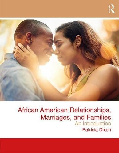 Search : African American Relationships, Marriages, and Families: An Introduction