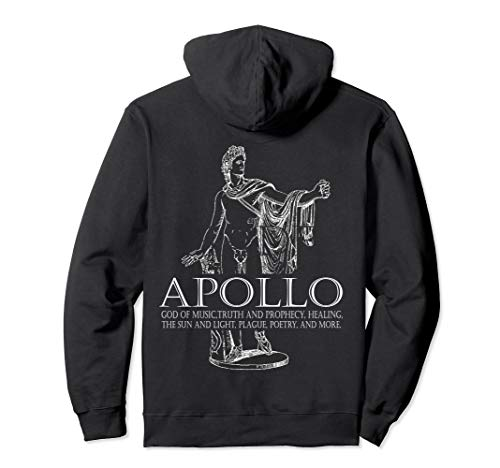 Apollo God Of Music And Sun Greek Mythology Hoodie -