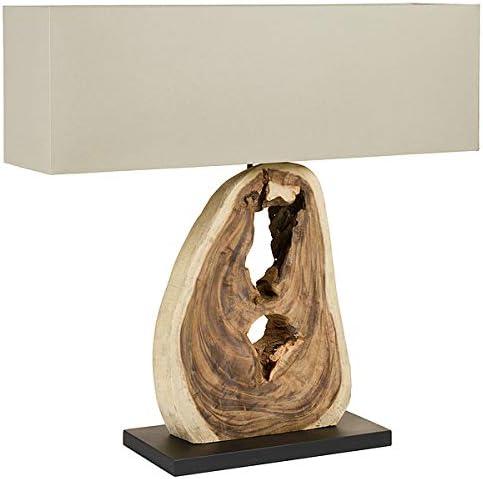 Lampada Da Tavolo Legno Di Maggiociondolo 80 X 20 X 95 Cm Amazon It Illuminazione