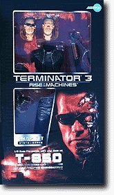 Terminator 3 Rise Of The Machines SNAP FIT T-850 1/6 Scale Pre-Painted Soft Vinyl Model ()