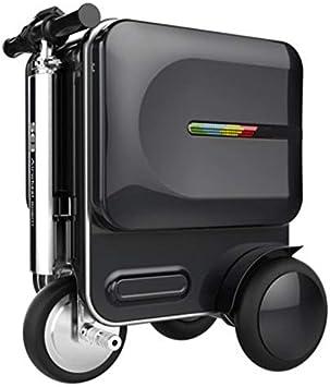 ML Maleta Inteligente eléctrica monopatín Inteligente Bicicleta eléctrica Maleta de Negocios Unisex 20 Pulgadas Negro,Black: Amazon.es: Deportes y aire libre
