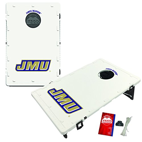 - Victory Tailgate James Madison Univ. JMU Dukes Baggo Cornhole Boards Set, NCAA Classic (Includes Matching Bags!)