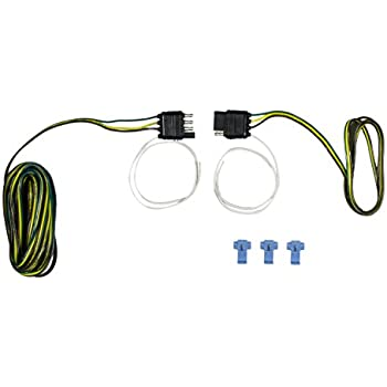 41scCCOoN0L._SL500_AC_SS350_ amazon com hopkins 48245 4 wire flat 20' trailer end y harness 4 wire flat trailer wiring at aneh.co