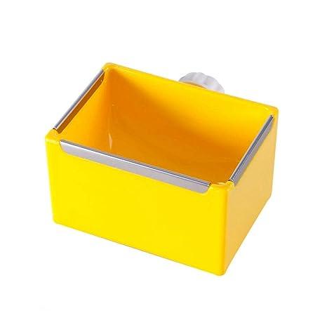 Dumcuw - Cuenco de plástico para Comida, Jaula extraíble para ...