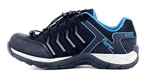 K pour et la Kastinger enfants Membrane respirabilité Tex K Mountain Charbon bleu rapides Chaussures l'étanchéité Low Pour basses Imperméable Lacets qwSqxIPO
