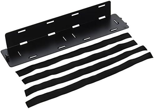 Legrand – OnQ 36490401 Universal Plate, Full-Width, 364904-01, Black