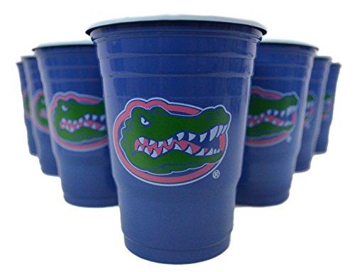 NCAA Beer Pong Set (Florida Gators) (Florida Gators Tailgate Kit)