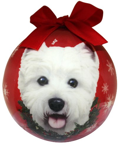 (Westie Christmas Ornament Shatter Proof Ball Easy To Personalize A Perfect Gift For Westie Lovers)
