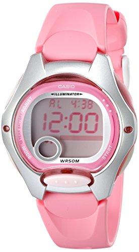 Casio Women s LW200-4BV Pink Resin Digital Watch