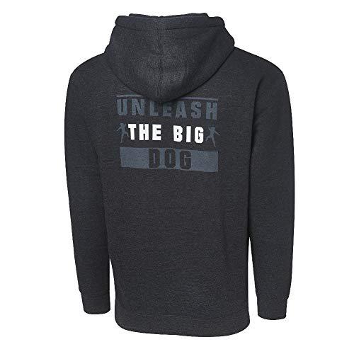Roman Reigns Unleash The Big Dog Full Zip Hoodie Sweatshirt Multi Large (Wwe Hooded Sweatshirt)