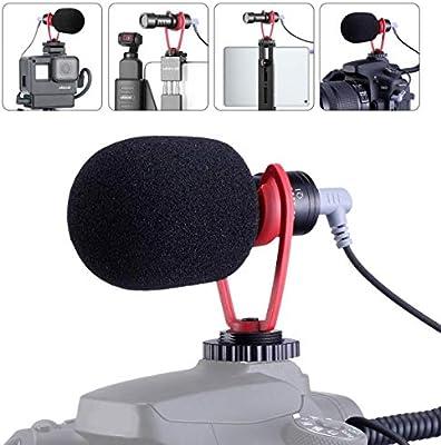 SAIREN - Micrófono de vídeo Vlog Accesorios para cámara Sony RX100 ...