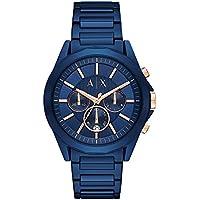 Armani Exchange Men's AX2607 Blue IP Watch