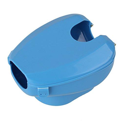 Bqlzr bleu oiseaux en plastique fournit facile de pigeon for Drap housse plastique