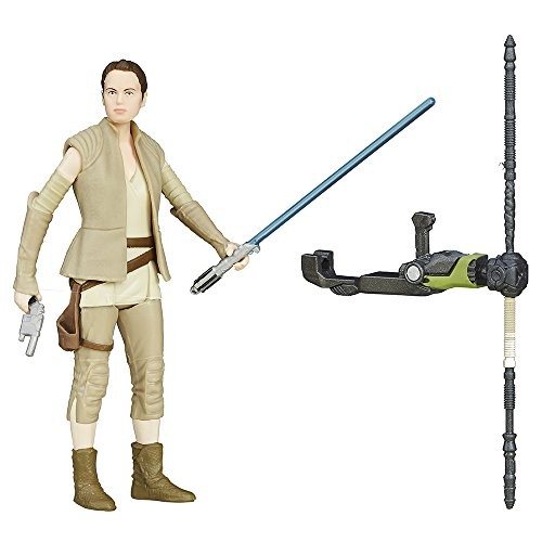 Star Wars The Force Awakens Rey Action Figure, 3.75-Inch