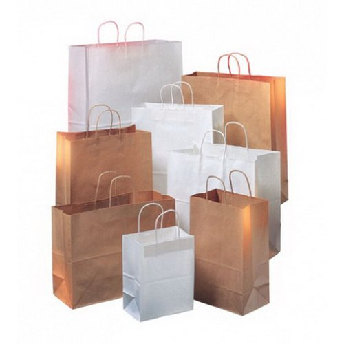 Purchase low price Duro Buy Fresh Local Paper Grocery Bag Kraft, / BBL | 250/Pack
