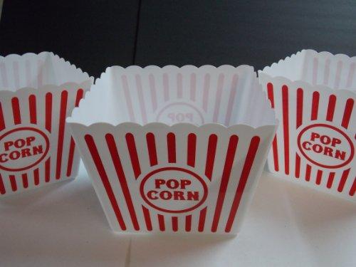 plastic popcorn tub - 4