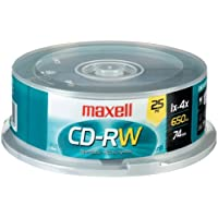 MAX630026 - Maxell 4x CD-RW Media