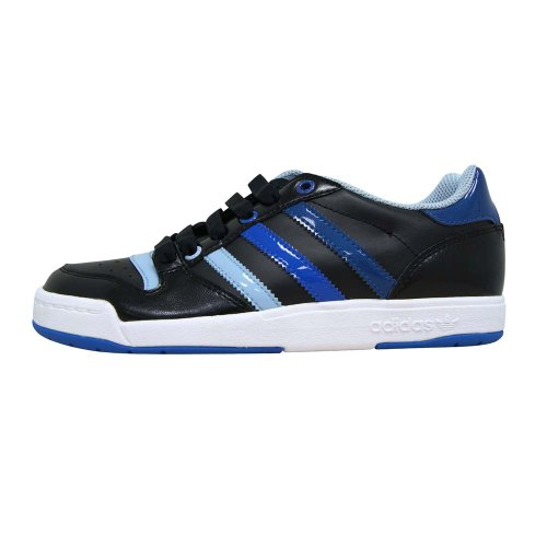schwarz Caña de weiss cuero baja negro blau mujer adidas BwAYRdxqw