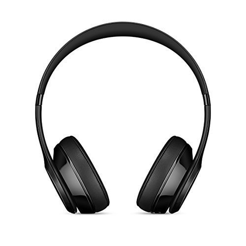 Beats Solo 3 Wireless On-Ear Headphones - Gloss Black (Renewed)
