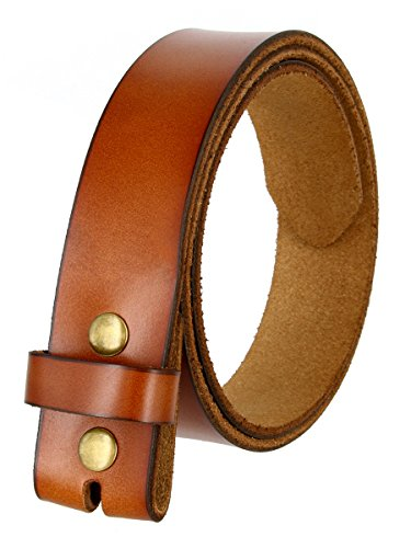 BS121 Men's Vintage Style Leather 1-1/2
