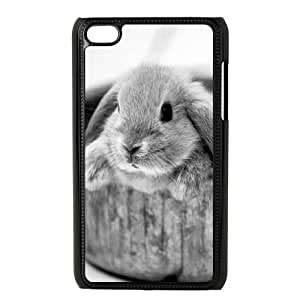 T-TGL(RQ) Ipod Touch 4 High-Quality Phone Case Rabbit with Hard Shell Protection