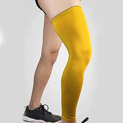 HELUTBBH Baloncesto Bicicleta Calentadores para piernas Protector ...