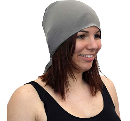 EMF Protection Headgear - Silver Elastic