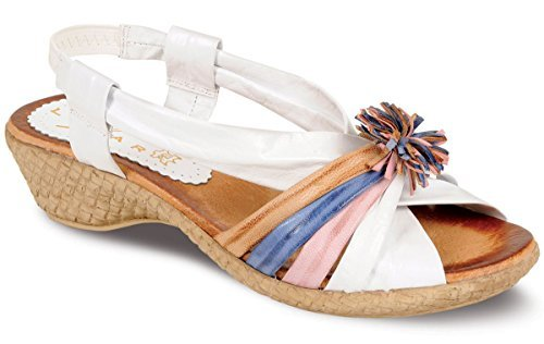 Fantasia - Sandalias de vestir para mujer blanco - blanco