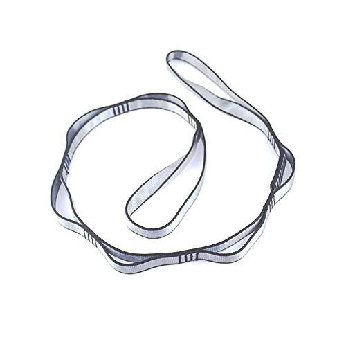 (FIRESKIOR Climbing Strap Daisy Chain Nylon Daisy Chain Adjustable Strap Rope Yoga Extend Belt (1-Pack))