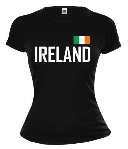 buXsbaum Girlie T-Shirt Ireland-XL-Black-
