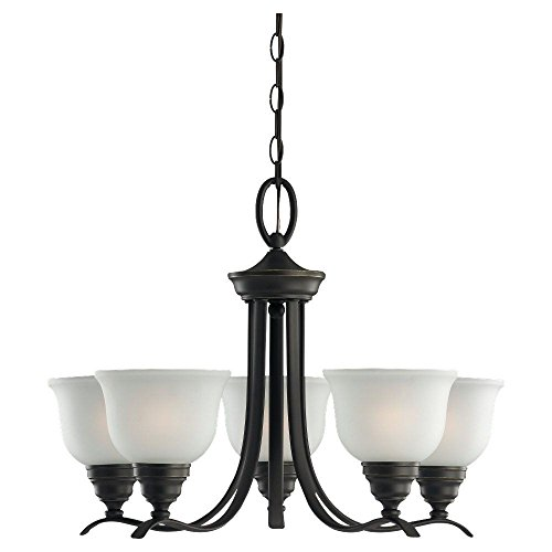 Sea Gull Lighting 31626-782 5 Light Wheaton Chandelier Light Fixture