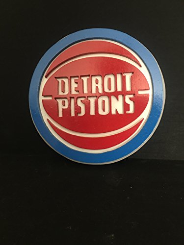 Detroit Pistons Wood Wall Plaque - Piston Wall