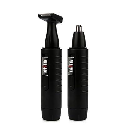 Letigo Electric Nose & Ear Hair Trimmer For Men And Women Rechargable Washable Beard Hair Shaver Face Care Device (1 Set ) by Letigo