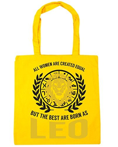 All women are created equal but the best are born as Leo Tote Shopping /& Gym /& Beach Bag 42cm X 38cm with Handles By Valentine Herty