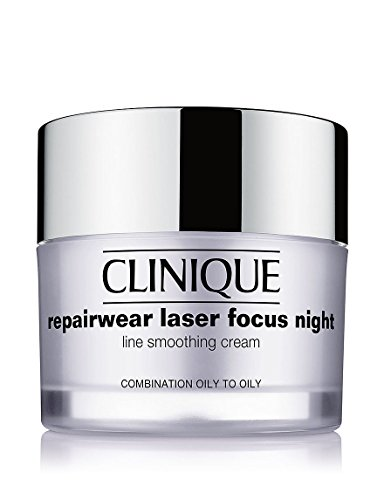 Price comparison product image Clinique Repairwear Laser Focus Night Line Smoothing Cream - Combination Oily To Oily 50Ml