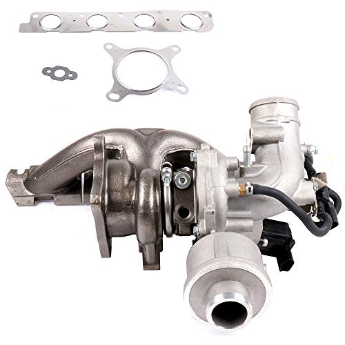 ECCPP Turbo Turbocharger Fits 2008-2013 Audi A3 2005-2010 Audi A4 2005-2009 Audi A4 Quattro 2009-2010 Audi TT Compatible with 53039880087 06D145701D 06D145701H 06D145701G Turbocharger
