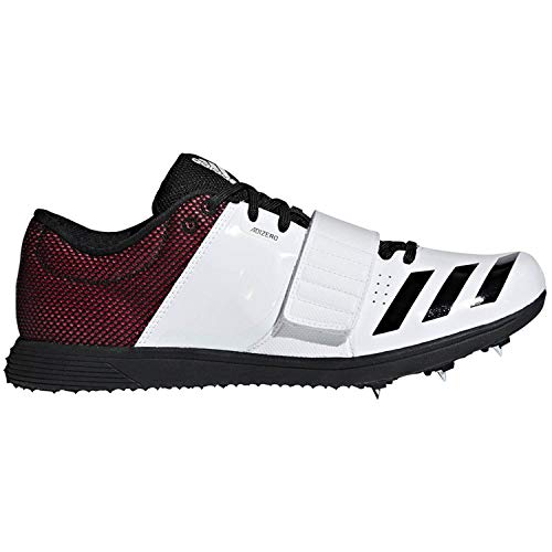 adidas Adizero Tj/Pv White/Black/Red Track Shoes 9