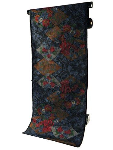 本場 奄美大島 紬 古代染色 伝統的工芸品 着物 反物 tu-25
