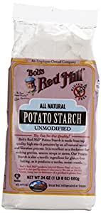 Bob's Red Mill - Potato Starch, Gluten Free and Unmodified, 24 Ounces