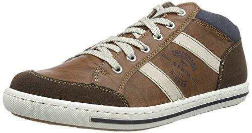 Rieker 19042 Herren Hohe Sneakers Braun (cigar/nut/chalk/pazifik / 27)
