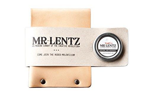 Lentz Wallet Men's Leather Tanned Bifold Mr Natural Mr Lentz Sun pq6Ex