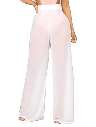 Coolred - Pantalones de chándal para Mujer (Gasa en la Cintura ...